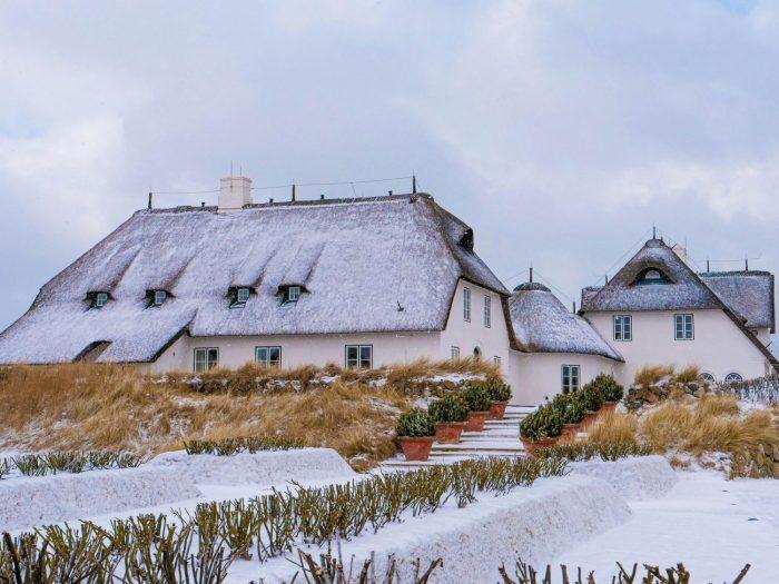 Sylter Garten im Winter 2