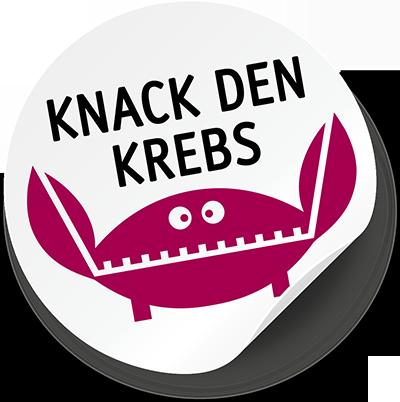 Logo Knack den Krebs